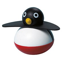 Pingouin culbuto bois